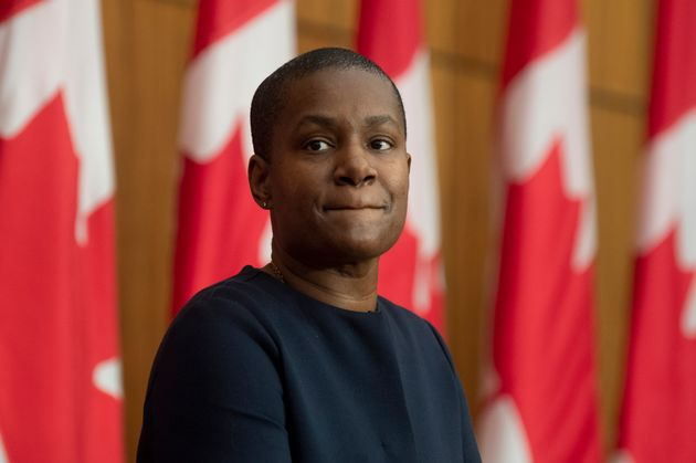 Green Party Leader Annamie Paul is seen here in Ottawa on Dec. 7, 2020. Paul was born in the federal...
