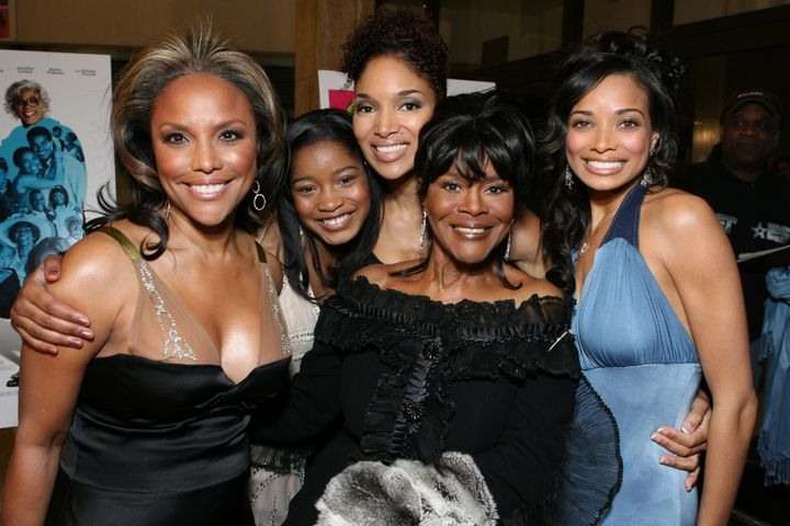 Left to right: Lynn Whitfield, Keke Palmer, Lisa Arrindell Anderson, Cicely Tyson and Rochelle Aytes.&nbsp;<i>E. Charbonneau via Getty Images</i>