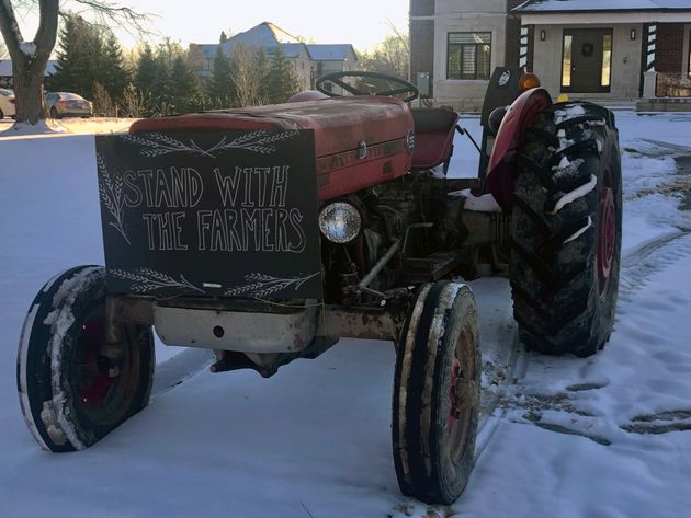 This tractor reminds the writer of his family's farming