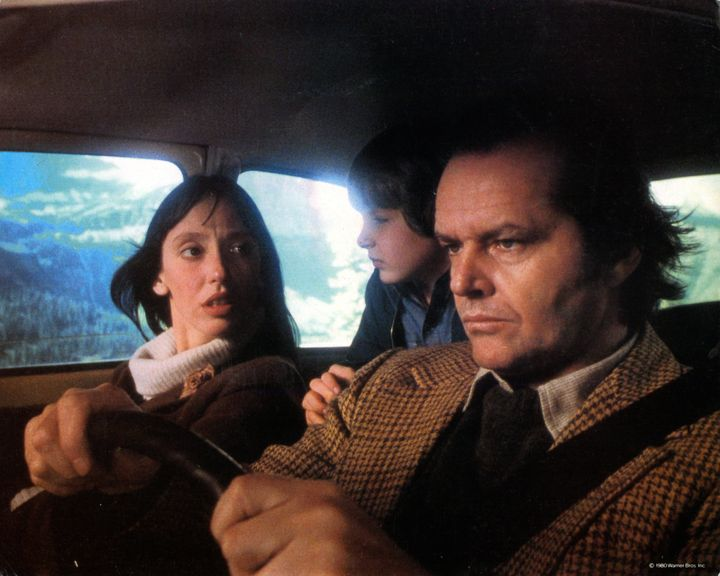 "Shelley Duvall, Danny Lloyd and Jack Nicholson in the 1980 film ""The Shining,"" the Stanley Kubrick-directed adapt"