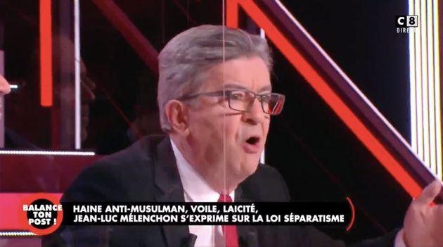"""Dans """"Balance ton post"""", Mélenchon s'emporte contre"""