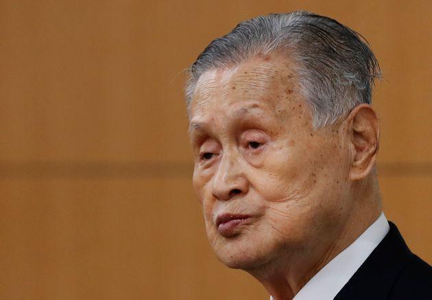 Yoshiro Mori, presidente del comité organizador de los JJOO de Tokio 2020 (Kim Kyung-hoon/Pool...