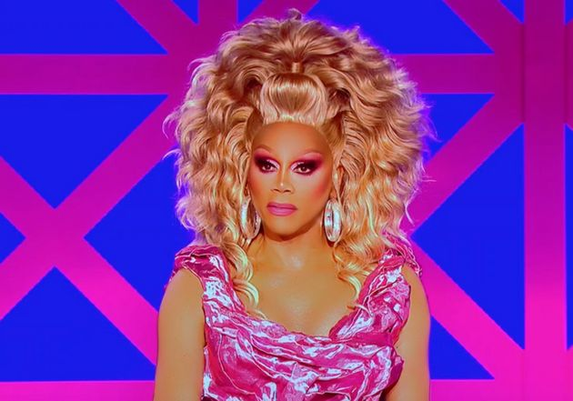 RuPaul's face upon discovering Joe Black's outfit was from
