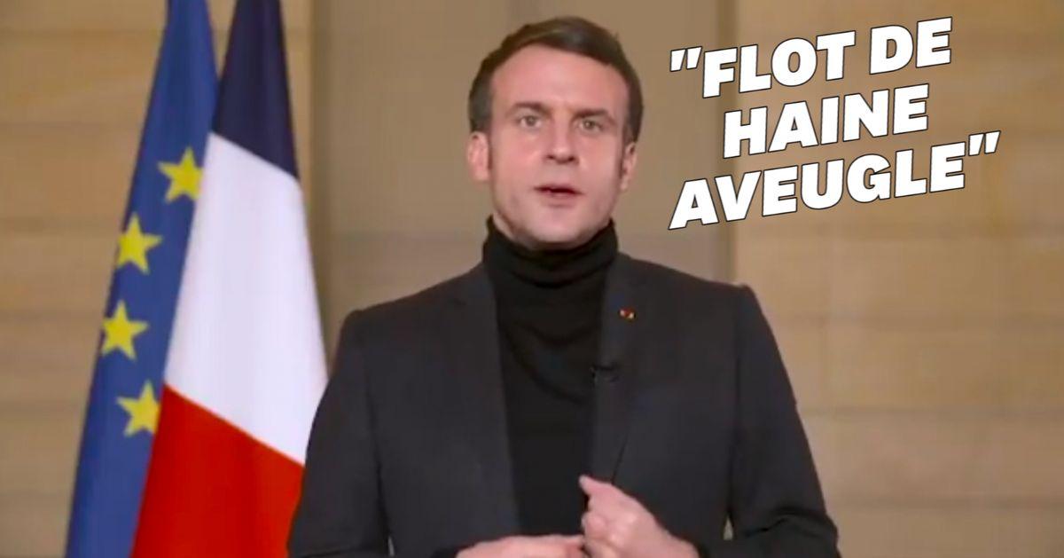"""Pour le Nouvel An lunaire, Macron revient sur la """"haine aveugle"""" qui s'est déversée au début de la crise Covid"""