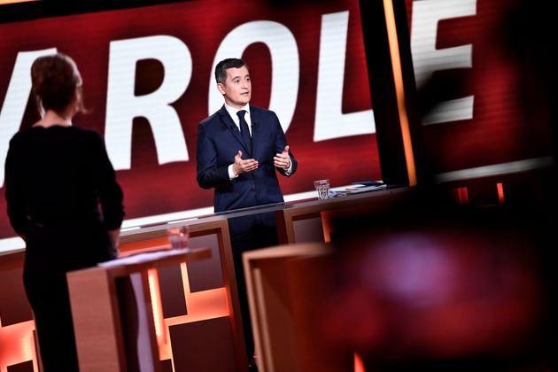 Gérald Darmanin face à Marine Le Pen sur le plateau de France 2 jeudi 11
