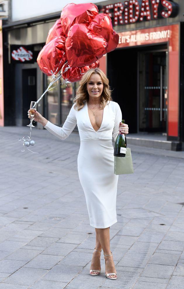Amanda Holden officially celebrates her 50th birthday next