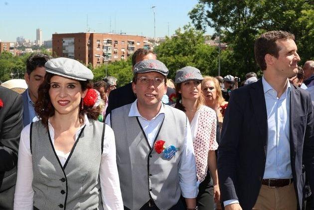 Isabel Díaz Ayuso y Jose Luis Martínez