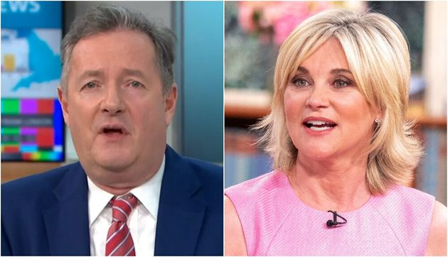 Piers Morgan and Anthea