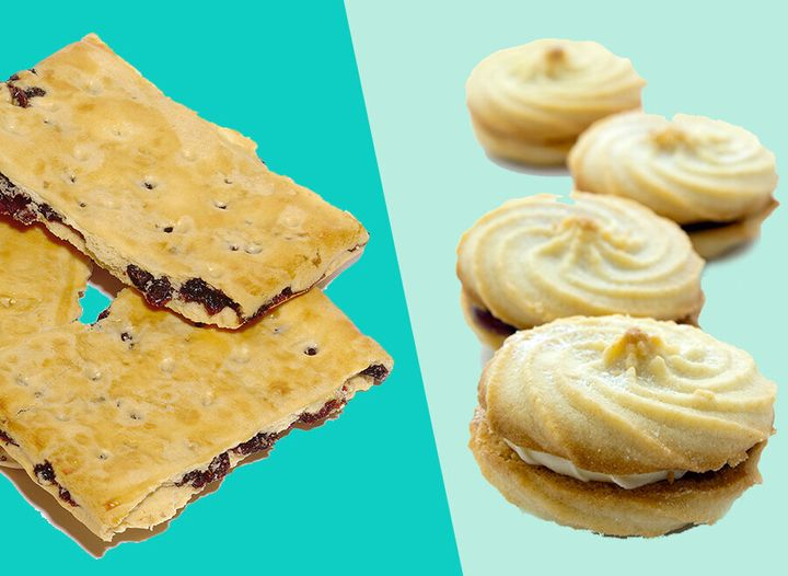 Garibaldis and Viennese whirls had a grand total of zero votes each.
