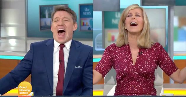Ben Shephard and Kate