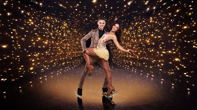 Joe-Warren and Vanessa in their Dancing On Ice publicity