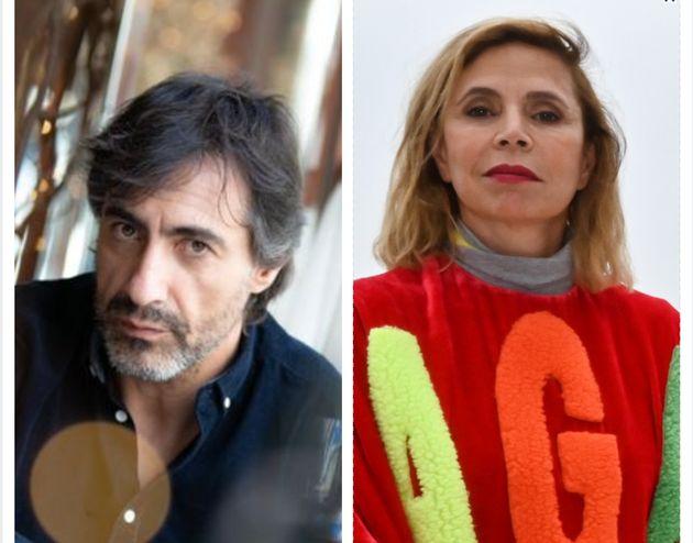 Juan del Val y Ágatha Ruiz de la