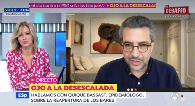 Captura del programa 'Espejo Público' de este