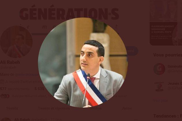 Photo du profil Twitter du maire Génération.s de Trappes (Yvelines) Ali