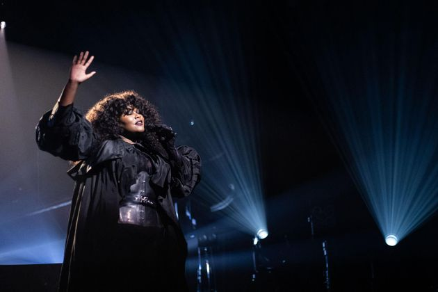 La chanteuse Yseult lors du concert des révélations des Victoires de la musique 2021 au Casino de Paris, le 11 janvier 2021