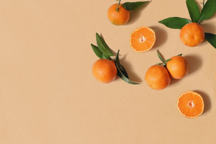 Give tangerines a squeeze and a sniff to determine whether they're ripe.