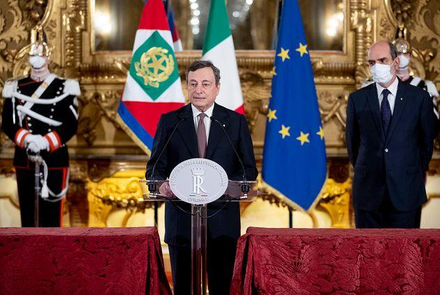 Con Mario Draghi la grande