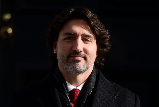 Prime Minister Justin Trudeau holds a press conference at Rideau Hill Ottawa on