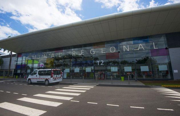 (Photo d'illustration prise en septembre 2017 à l'aéroport de Pointe-à-à-Pitre en Guadeloupe - Helene...