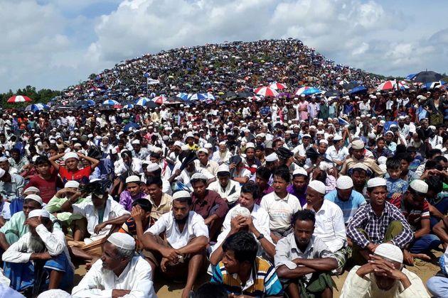 Le coup d'État militaire en Birmanie a renforcé les inquiétudes des Rohingyas sur...
