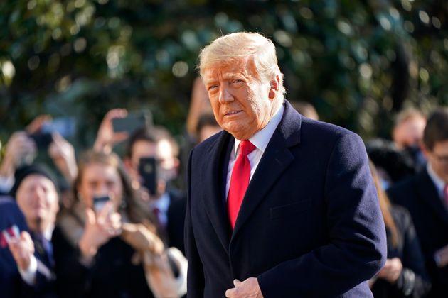 Donald Trump, ici à la Maison Blanche à Washington, le 12 janvier