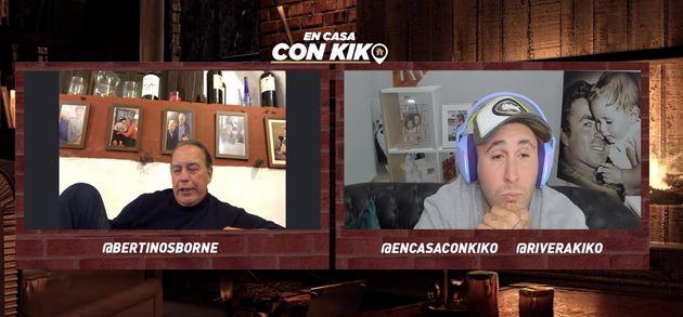 Kiko Rivera y Bertín Osborne en