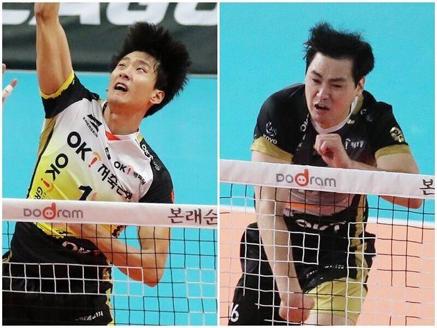 Men's Professional Volleyball OK Financial Group Song Myung-keun,