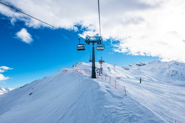 Ski.lift in Bormio Ski