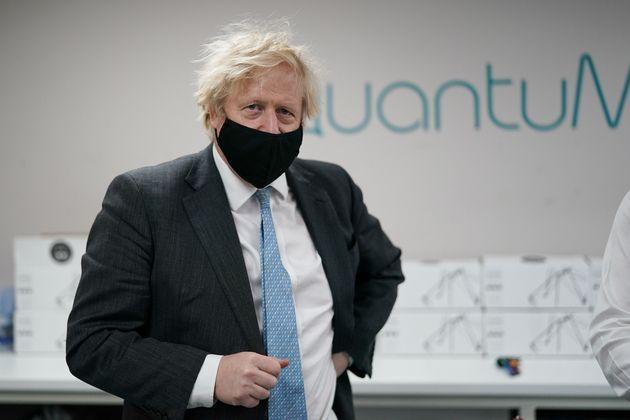 Britain's Prime Minister Boris