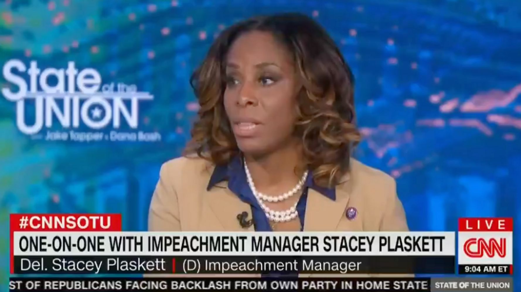Impeachment Manager: We Needed 'More Senators With Spines,' Not Witnesses