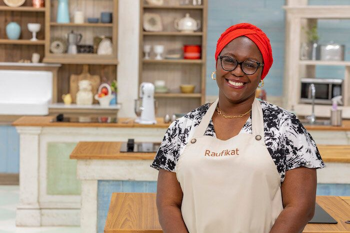 """The Great Canadian Baking Show"" contestant Raufikat Oyawoye."