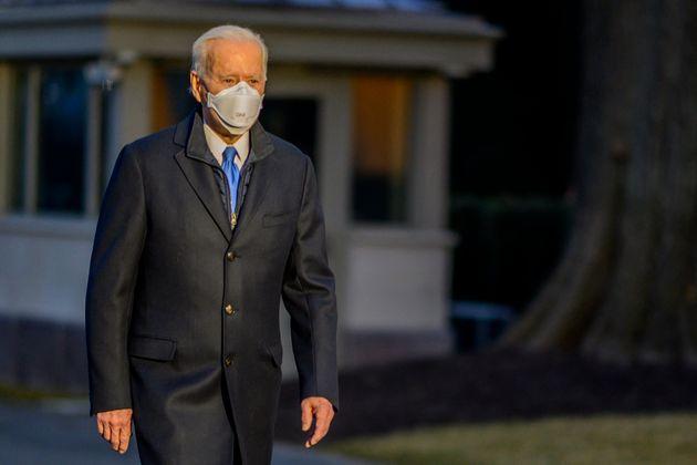 Joe Biden, ici à la Maison Blanche à Washington, le 12 février