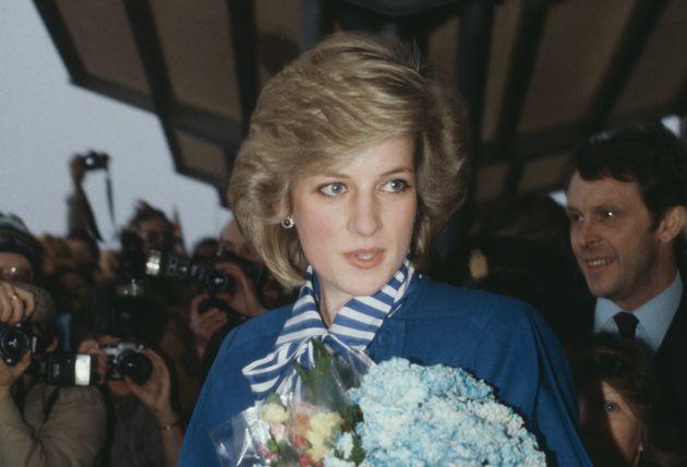 ノルウェーを訪れたダイアナ妃(1984年2月)