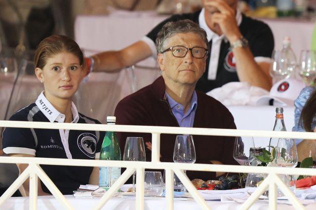 Bill Gates y su hija