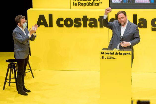 Oriol Junqueras y Pere