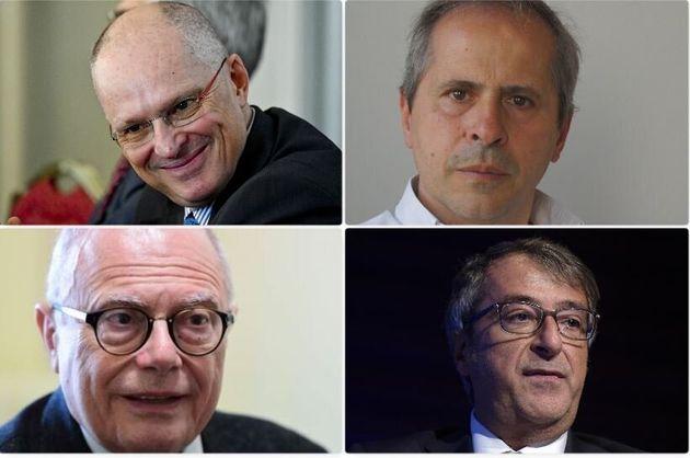 Walter Ricciardi, Andrea Crisanti, Massimo Galli, Nino