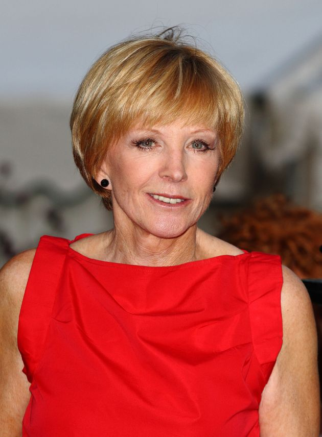 Anne Robinson pictured in