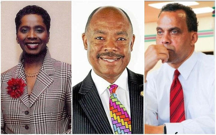 Left to right: Shirley Smith, John Barnes Jr., and Jeff Johnson resemble Shontel Brown ideologically, but believe they would