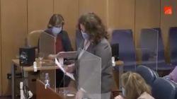 Carla Antonelli estalla contra la transfobia de Vox y pide amparo a la Asamblea de