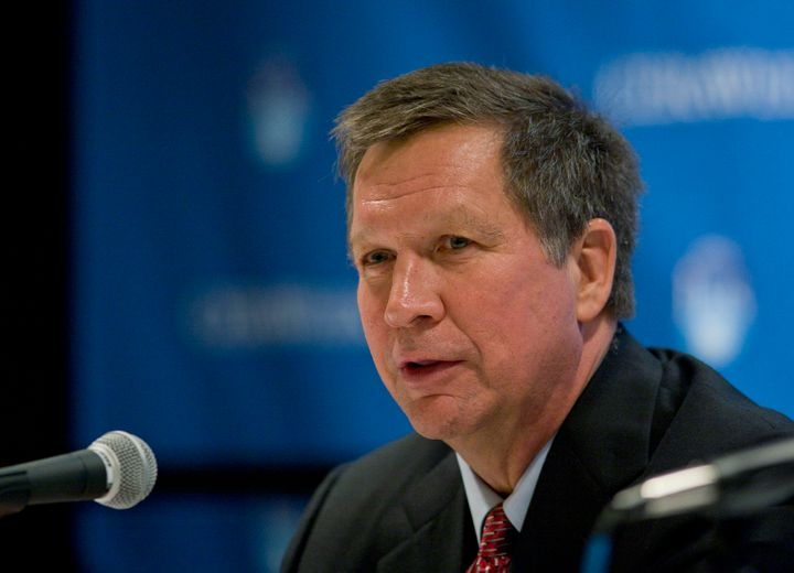 Although Nina Turner is best known as a left-wing ally to Sen. Bernie Sanders (I-Vt.), she also developed a working relationship with then-Ohio Gov. John Kasich (R), pictured above.
