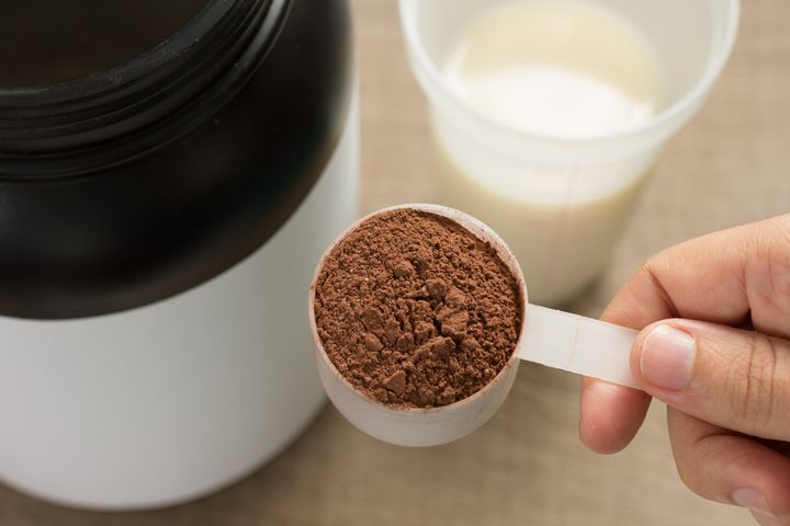 """While protein powder can sometimes be a quick and easy source of protein, it doesn't offer any benefits over whole food forms of protein,"" says registered dietitian Alissa Rumsey."