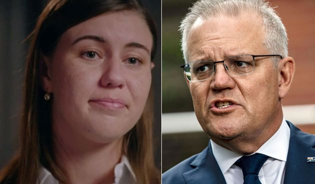 Prime Minister Scott Morrison apologised to Liberal Party staffer Brittany