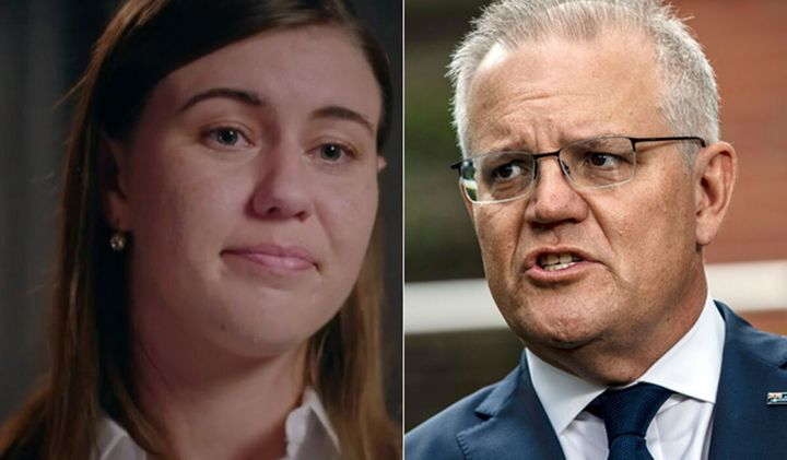 Prime Minister Scott Morrison apologised to Liberal Party staffer Brittany Higgins.
