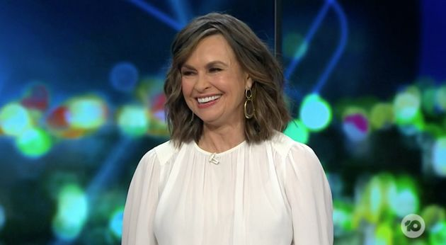 'The Project' host Lisa Wilkinson made a joke about the name of Prince Harry and Meghan Markle's unborn...