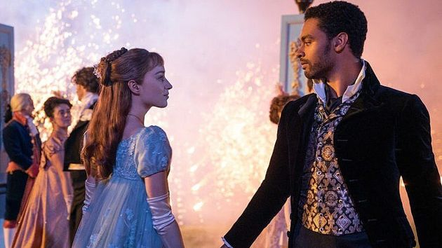 Daphne Bridgerton and the Duke Of Hastings' love story took centre stage in series