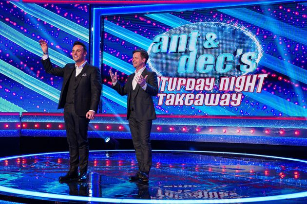 Ant and Dec during last year's series of Saturday Night