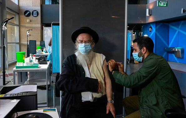 In Israele 94% di casi di Covid in meno a 2 mesi dall'inizio della campagna