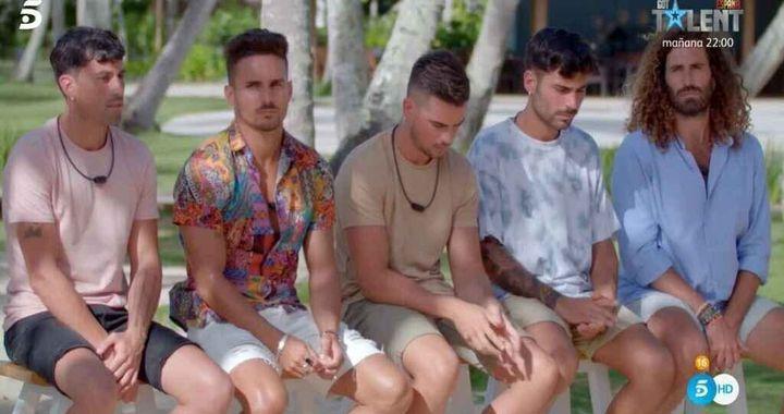 Los chicos de 'La isla de las tentaciones 3'.