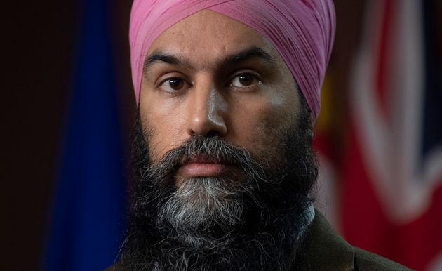 NDP Leader Jagmeet Singh attends a news conference in Ottawa on Feb. 3, 2021. Singh admits provinces haven't asked for the vaccine rollout assistance he's been touting, but he isn't buying the notion that it's entirely up to them to deliver the shots.
