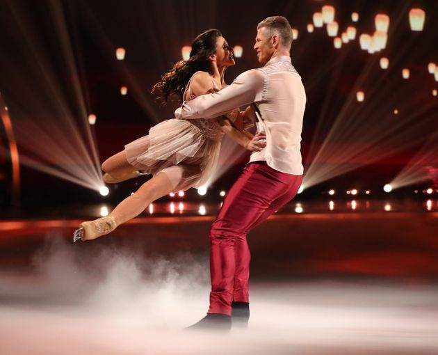 Hamish Gaman and Faye Brookes on the